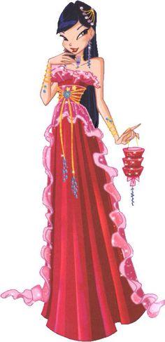 Een van Musa's jurken
