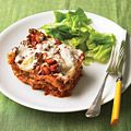slow cooked  lasagna - no more heating the kitchen up for this in the summer!