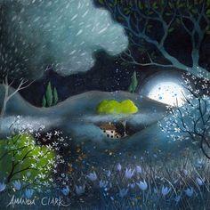 Fields of Jade, art print by Amanda Clark