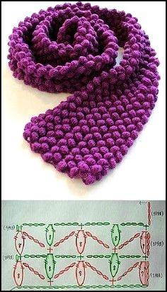 Crochet Tunic Pattern, Crochet Shawl, Crochet Stitches, Crochet Patterns, Crochet Art, Easy Crochet, Crochet Scarves, Crochet Clothes, Crochet Neck Warmer