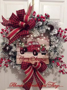 Christmas wall sign