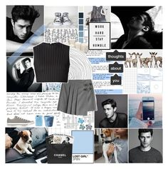 """Im lonely and blue baby every night , you know you didn't treat me right"" by polystar10 ❤ liked on Polyvore featuring WALL, Graham & Brown, Tocca, Marc by Marc Jacobs, GET LOST, David Koma, PAM, Converse, Assouline Publishing and Chanel"