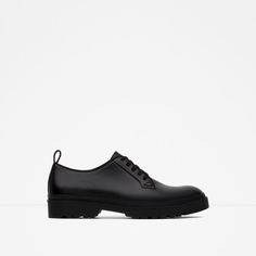 Image 1 of CASUAL MATTE BLUCHERS from Zara