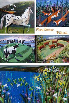 Illustrated article on Artist Mary Sumner