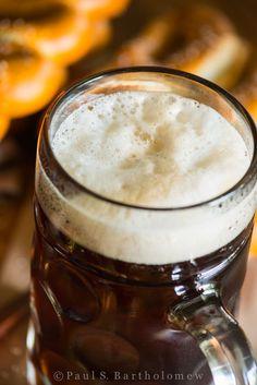 Oktoberfest - German fall festival celebrating german food and beer. Food photography by Paul S. Oktoberfest Food, Dark Beer, German Beer, Craft Beer, Brewing, Food Photography, Bavaria, Cigars, Tableware