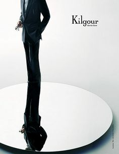 Credit: Nick Knight/Peter Saville Studio Kilgour A/W 2004-05'My friendship with Carlo Brandelli developed into a working relationship and I became model as well as art director for the Savile Row house'