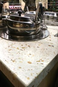 Coverings Etc - Eco-Terr   Sustainable countertop material