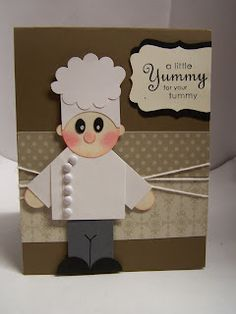 Stampin' Up! Chef Punch Art   by Bonnie's Creative Place