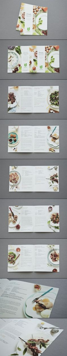 Informative menus can allow for a customers satisfaction