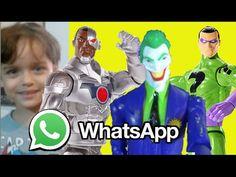 WhatsApp  Ciborgue Cyborg x Coringa Joker Charada Riddler DC Comics  bri...