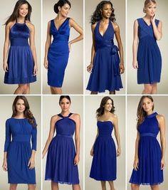 d43e100a4 Vestidos azuis Modelos De Roupas Sociais, Sonho De Noiva, Madrinhas, Roupas  De Festa