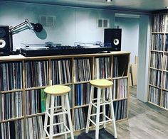 "2,109 Likes, 9 Comments - #vinyloftheday (@thevinylday) on Instagram: ""Nicely done record room : @rolfey808 . Want to share & showcase your records collection with our…"""