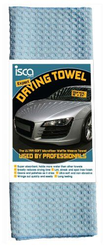 Expert Drying Towel - The Most Super Absorbent, Ultra Soft, Microfiber Waffle Weave Car Drying Towel GUARANTEED! - Quick Drying Auto Detailing Cloth Used by Professionals - Superior Alternative to Chamois - Premium Cleaning Cloth - Streak, Spot, Scratch Free and Wrings Out Easily - http://autodetailingsupplies.juandastore.com/expert-drying-towel-the-most-super-absorbent-ultra-soft-microfiber-waffle-weave-car-drying-towel-guaranteed-quick-drying-auto-detailing-cloth-used-by-pr