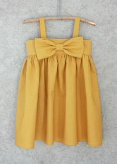 Yellow Bow Dress > BRICKYARD BUFFALO