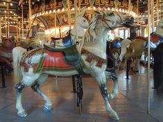 Perkasie, PA Carousel Painted Wooden Horse-4 by Gina Waltersdorff on 500px