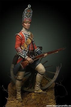 English Grenadier 18th Foot – 1751