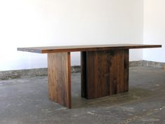 John Pawson Table at Matin in Los Angeles, Remodelista