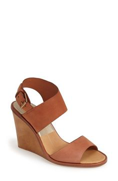 Dolce Vita 'Jodi' Snake Embossed Leather Wedge Sandal (Women) available at #Nordstrom
