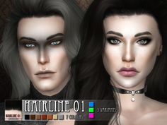 Sims 4 CC's - The Best: Hairline 01 by RemusSirion