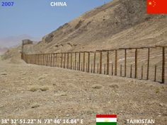 Confini amministrativi - Riigipiirid - Political borders - 国境 - 边界: 2007 CN-TJ Hiina-Tadžikistan Cina-Tagikistan