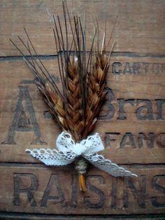 A handful of wheat