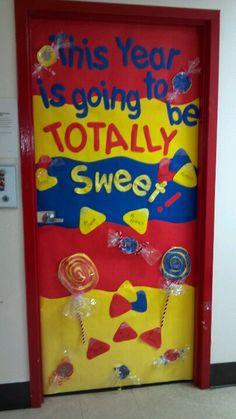 Classroom door design
