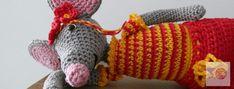 Zomerse muis gehaakt door Studiebolletjes Fingerless Gloves, Arm Warmers, Amigurumi, Fingerless Mitts, Fingerless Mittens
