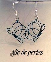Tutorial for wire butterfly vie-de-perles