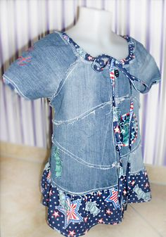 Recycle-style Jeans, farbenmix