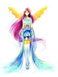 Fluttershy by Koveliana.deviantart.com on @deviantART