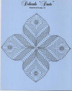 Trèfle a quatre feuilles Bobbin Lacemaking, Bobbin Lace Patterns, Needle Lace, Lace Making, Lace Flowers, String Art, Crochet Doilies, Needlework, Diy And Crafts