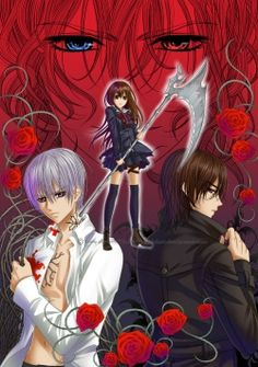 Vampire Knight I don't know who to ship her with both of them at technically her brothers HELP ME