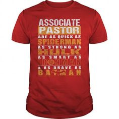 ASSOCIATE PASTOR T Shirts, Hoodie Sweatshirts