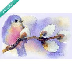 Blue Bird and Pussywillow | UncommonGoods
