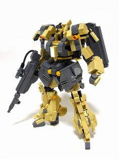 izzo. lego mech.  This is more of something my brother would get a kick out of.