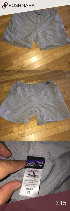 Men's Patagonia shorts In great shape. They were convertible into pants with zipper but missing the pant part. No flaws. Have been worn but still have life left to them. Open to offers. No stains. Patagonia Shorts