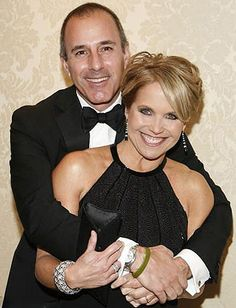 Matt Lauer says Katie Couric is very attractive. Like attractive. So he revealed on Howard Stern's radio show. Celebrity Best Friends, Celebrity News, Today Show Hosts, Ann Curry, Amazing Women, Beautiful Women, Matt Lauer, Katie Couric, Women In Leadership