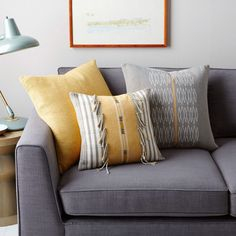 West Elm Cushion Covers