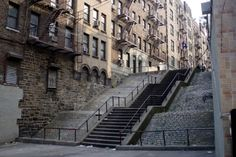 The Bronx was all about stairs and hills! I remember loving to go down these stairs, but dreading the climb back up. As an incentive, my mom would treat me to a malted and a pretzel at the candy store before the journey home after a day at the park!