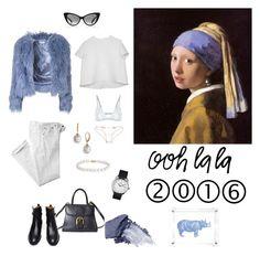 """Sans titre #238"" by matriochk on Polyvore featuring mode, Glamorous, Blue Nile, NARS Cosmetics, Hermès, Polo Ralph Lauren, Tom Ford, Balenciaga, Majorica et CÉLINE"