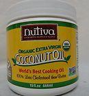 Nutiva Organic Extra Virgin Coconut Oil Cooking Oil 15 fl oz