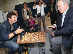 Chess & Strategy Trivia. Could you guess who is Garry Kasparov's opponent ? Hint on http://www.chess-and-strategy.com/