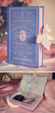 #diy book clutch: Alices Adventures in Wonderland