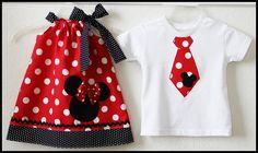 Super Cute Minnie Mickey Disney Brother Sister set