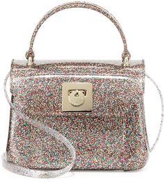 Furla Candy Bon Bon Glittered Mini Crossbody, Multi on shopstyle.com