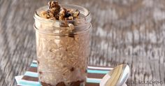 Whether you like your overnight oats hot or right out of the fridge, these NUTELLA OVERNIGHT OATS will get your day off to a great start!