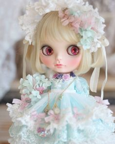 #customblythe #blythecustom #blythe #mintcustom#カスタムブライス #blythedoll#ブライス#브라이스#커스텀브라이스#ooakdoll#ooak#dolloutfit #blytheoutfit Smart Doll, American Girl Clothes, Custom Dolls, Vintage Dolls, Blythe Dolls, Baby Dolls, Doll Clothes, Hair Accessories, Disney Princess
