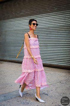 New York SS 2018 Street Style: Yaswin Sewell