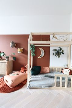 Shop deze stijl Kids Bedroom Dream, Jungle Bedroom, Baby Bedroom, Home Bedroom, Girls Bedroom, Baby Playroom, Baby Nursery Decor, Nursery Room, Wc Decoration