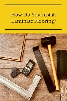 Learn everything you need to know about installing laminate flooring here. Flooring 101, Installing Laminate Flooring